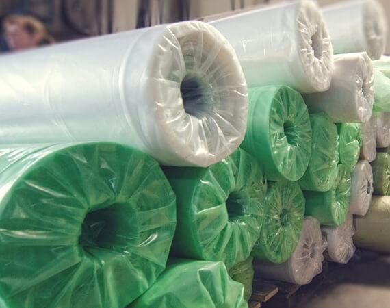 Pe građevinska folija zelena reciklirana